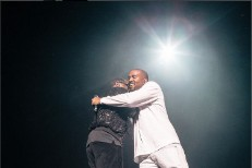 Puff Daddy and Kanye West