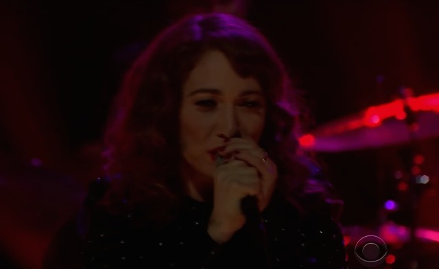 Regina Spektor on James Corden