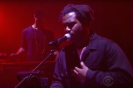Watch Sampha&#8217;s Great &#8220;Blood On Me&#8221; Performance On <em>Colbert</em>