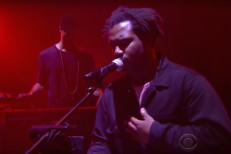Sampha on Colbert