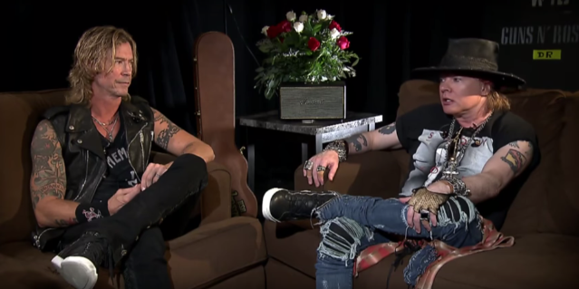 Axl Rose Explains Why Izzy Stradlin Isn't Part Of GN'R Reunion, Izzy