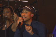 Watch Pharrell Perform Songs From The <em>Hidden Figures</em> Soundtrack