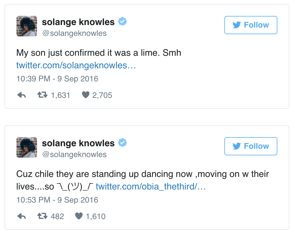 "Solange Shares Essay About ""Being A Minority In Predominantly White ..."
