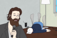 Watch Cartoon Father John Misty Sing A Song About Death & Go-Gurt For Adult Swim