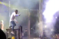Watch One Of The Chainsmokers Fall Off Stage In San Diego