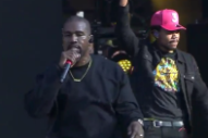 Watch Kanye West's Surprise Performance At Chance The Rapper's Magnificent Coloring Day Festival