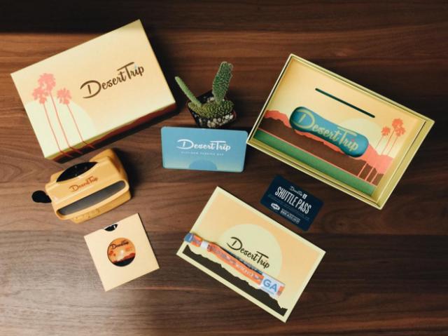 Desert Trip promotional materials
