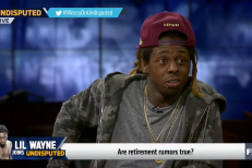 Lil Wayne on FS1's <emUndisputed/em>