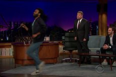 Donald Glover On James Corden