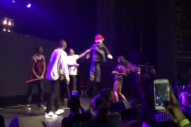 Watch YG Bring Fans Onstage To Hit A Donald Trump Piñata