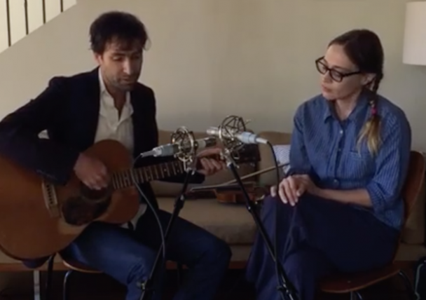 Watch Fiona Apple & Andrew Bird Play A New Song, Cover Bob Dylan, & More On Live From The Great Room