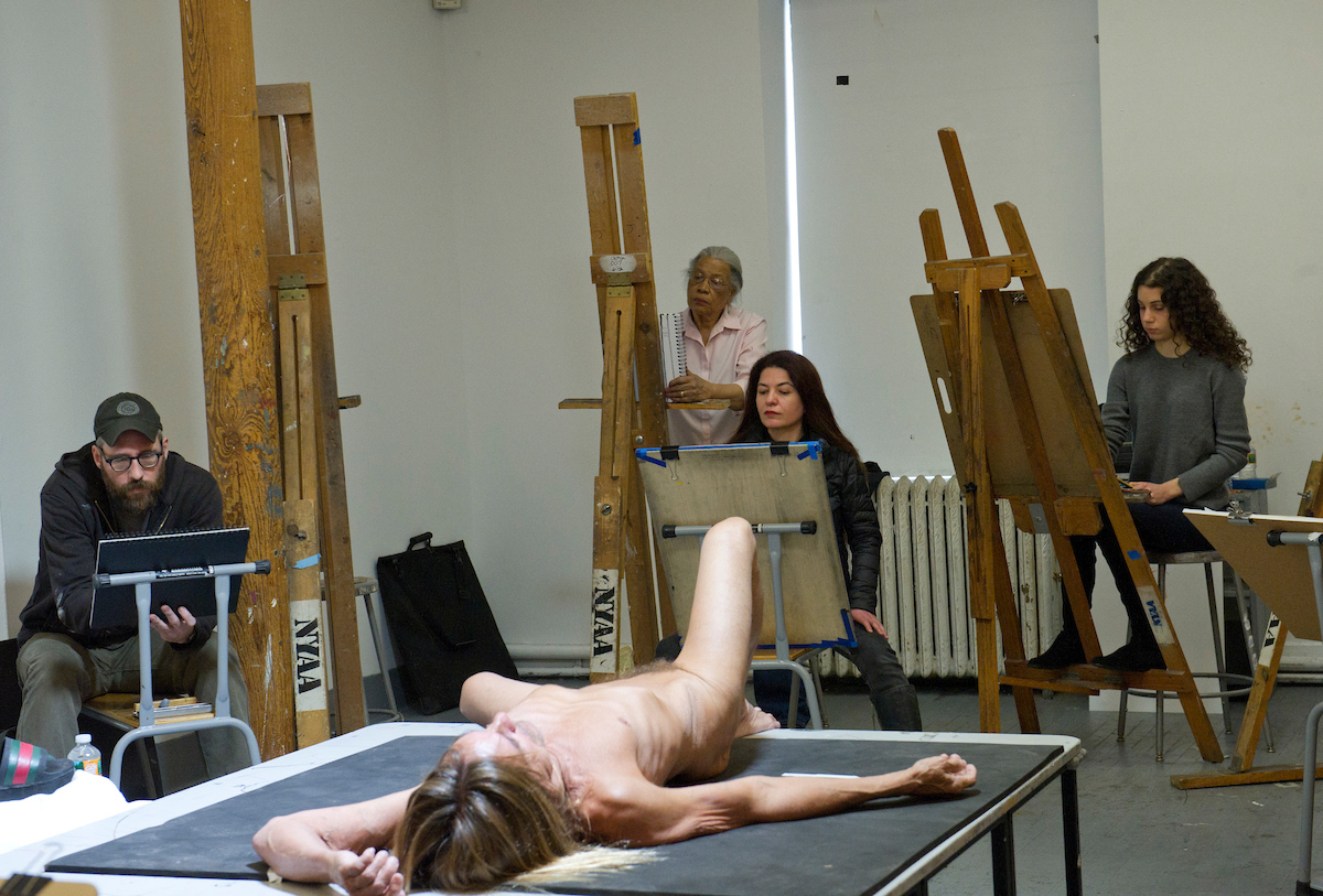 Check Out The Nude Iggy Pop Drawings From A New Brooklyn Museum Exhibit