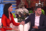 Watch Katy Perry Surprise Orlando Shooting Survivor On <em>Ellen</em>, Offer To Pay His Tuition