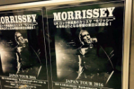 Morrissey Cancels Tomorrow's Concert In Japan