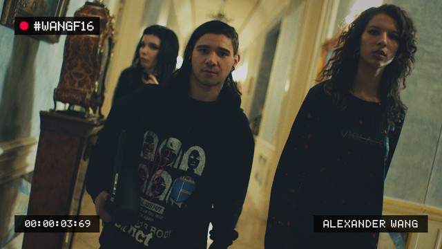 Watch Skrillex, Alice Glass, & Kylie Jenner Party In An Alexander Wang Ad
