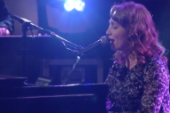 Watch Regina Spektor Perform &#8220;Bleeding Heart&#8221; On <em>Colbert</em>