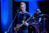"Watch Sting Pay Tribute To Prince And David Bowie With New Song ""50,000"""