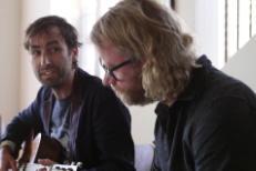 Andrew Bird and Matt Berninger