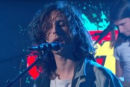Watch Nick Valensi&#8217;s Strokes Side Project CRX Make Their TV Debut On <em>Kimmel</em>