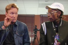 Conan O'Brien and Wiz Khalifa