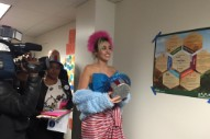 Miley Cyrus Campaigns For Hillary In GMU Dorms