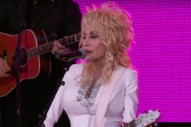 Watch Dolly Parton Sing &#8220;Outside Your Door,&#8221; Deploy Weapons-Grade Charm On <em>Kimmel</em>