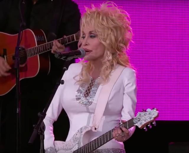 Dolly Parton on Kimmel