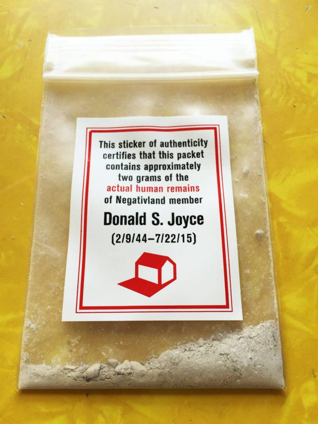 Donald S. Joyce Ashes