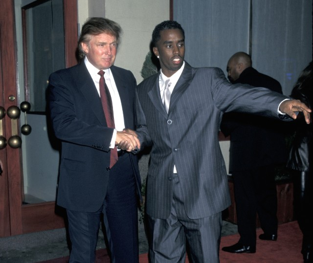Donald Trump and Diddy