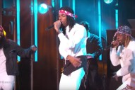 Watch Flatbush Zombies Rage Through Two Songs On <em>Kimmel</em>