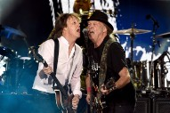 "Watch Paul McCartney Play ""Why Don't We Do It In The Road?"" Live For The First Time Ever With Neil Young At Desert Trip"