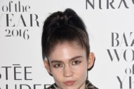 Grimes Wins Harper's Bazaar Women Of The Year Award