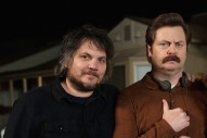 Jeff Tweedy Writes Woodworking Songs With Nick Offerman
