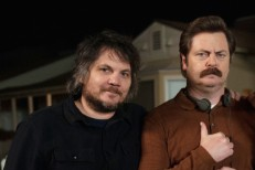 Jeff Tweedy and Nick Offerman