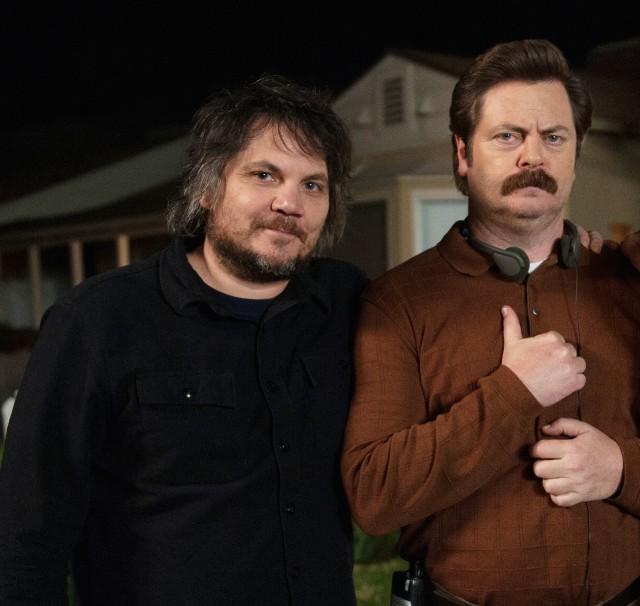 Jeff Tweedy and Nick Offerman