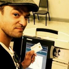 Justin Timberlake Avoids Trouble For Voting Selfie
