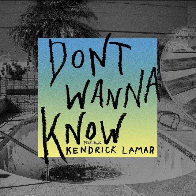 Download Lagu Maroon 5 feat. Kendrick Lamar - Don`t Wanna Know Mp3