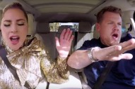 Watch Lady Gaga Do Carpool Karaoke, Take Over James Corden's Monologue