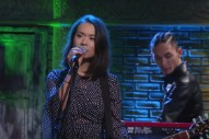 Watch Mitski Play &#8220;Your Best American Girl&#8221; With Jon Batiste On <em>Colbert</em>