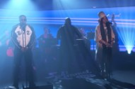 Watch Nas Perform With Erykah Badu, Wreck Matthew Perry At Trivia Game On <em>Kimmel</em>