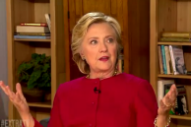 Hillary Clinton Finally Breaks Her Legendary Silence About Kanye West's Curtailed Meadows Set