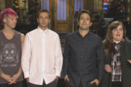 Watch Lin-Manuel Miranda Joke With Twenty One Pilots In Their <em>SNL</em> Promo