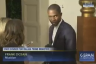 Frank Ocean's First Interview In Years Aired On C-SPAN