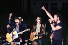 Watch Beck, Chris Martin, & Chad Smith Cover The Beach Boys, Bruce Springsteen, & Pink Floyd