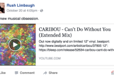 Caribou Is Rush Limbaugh's