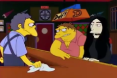 Yoko Ono References Old <em>Simpsons</em> Joke About Her In Art Exhibit
