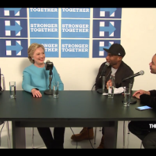 Hillary Jokes About That Death Row Records Meme