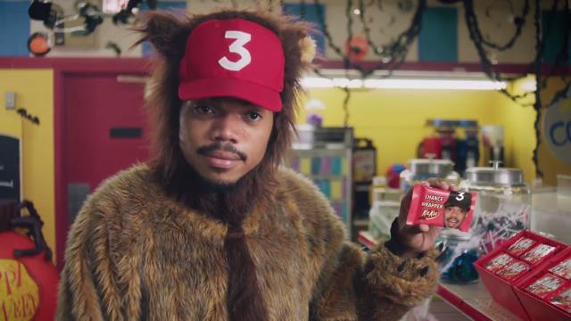 Chance The Rapper's Kit Kat commercial