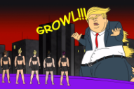 """Watch Puscifer's Animated """"The Arsonist"""" Video Featuring Ronda Rousey & Trumpzilla"""