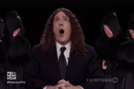 Watch Weird Al Sing A Song About This Week's Presidential Debate